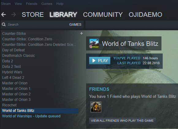 Signing in to World of Tanks Blitz on Steam | World of Tanks
