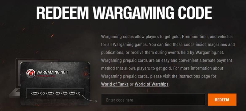Pay via World of Tanks prepaid card | World of Tanks