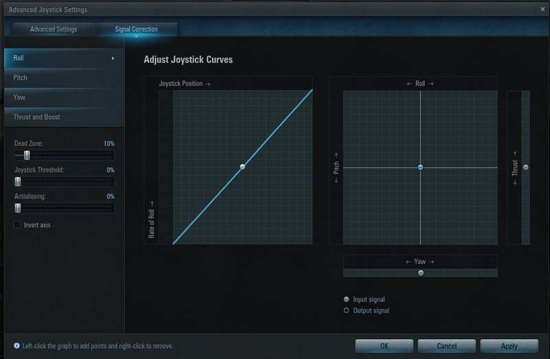 How to configure the joystick | World of Warplanes