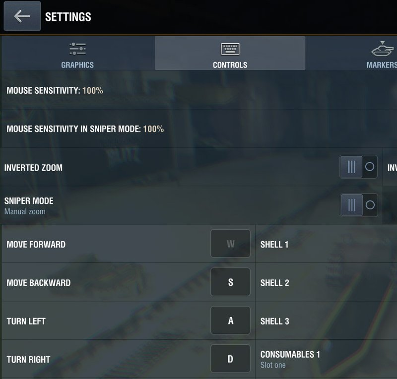 Gameplay: Configuring Keyboard and Mouse Controls | World of