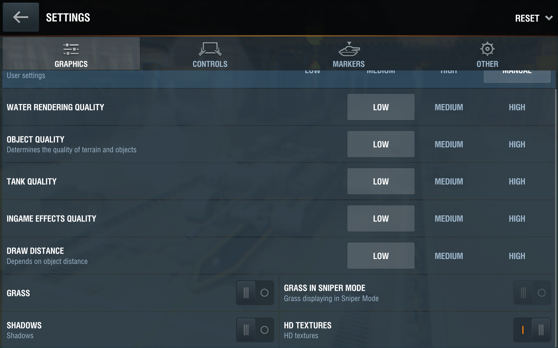 How to change your game settings world of tanks blitz in the controls tab you can disable certain control options and adjust the sensitivity of the camera and joystick additionally you can move the placement gumiabroncs Images