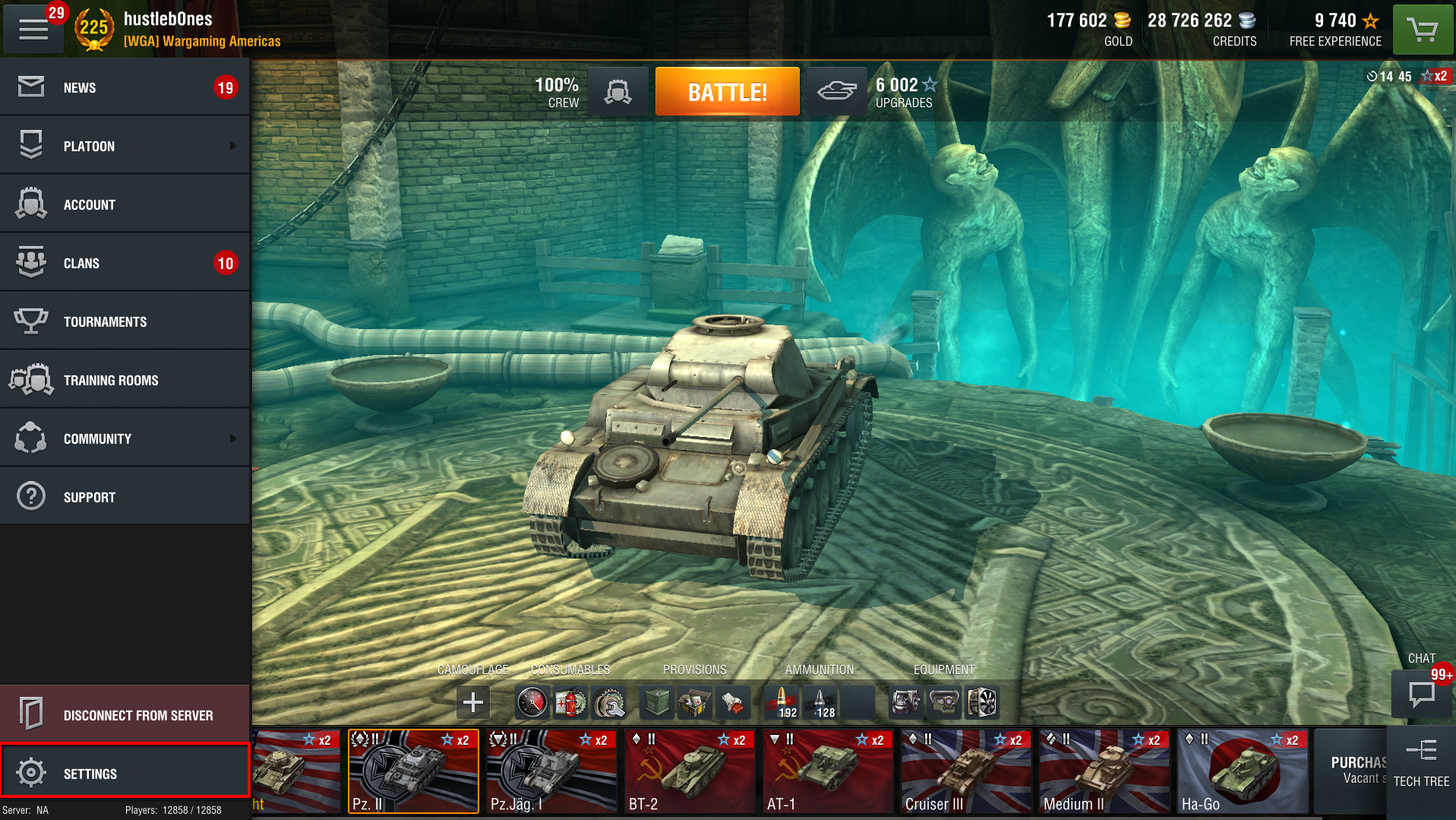 How to change your language settings world of tanks blitz change language 1 gumiabroncs Choice Image