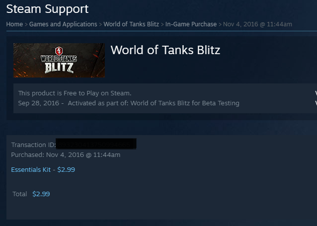 Steam Support - How to Report a Missing Purchase | World of