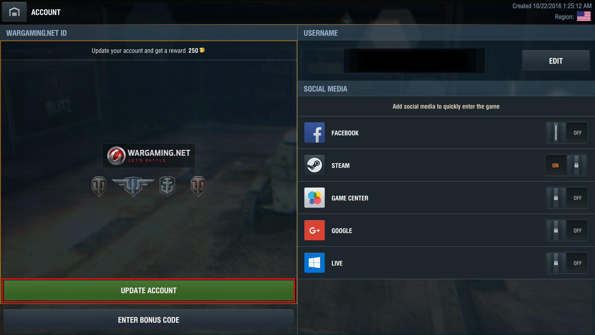 How to Upgrade Your Steam Account to a    | World of Tanks Blitz