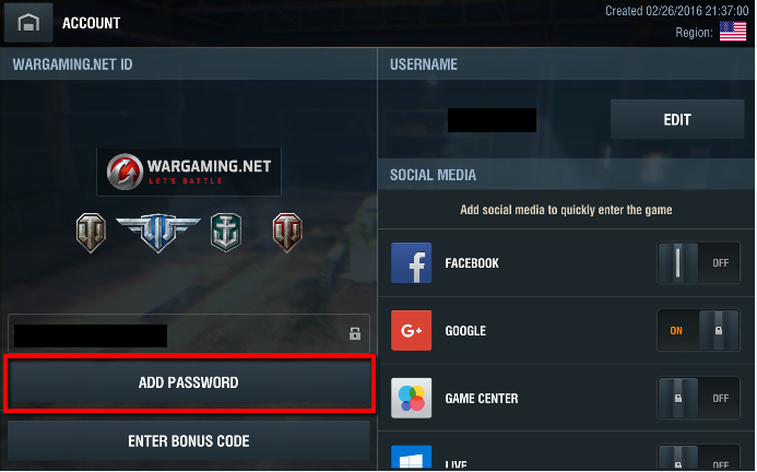 How to Upgrade Your Google Account to a Wargaming ID | World