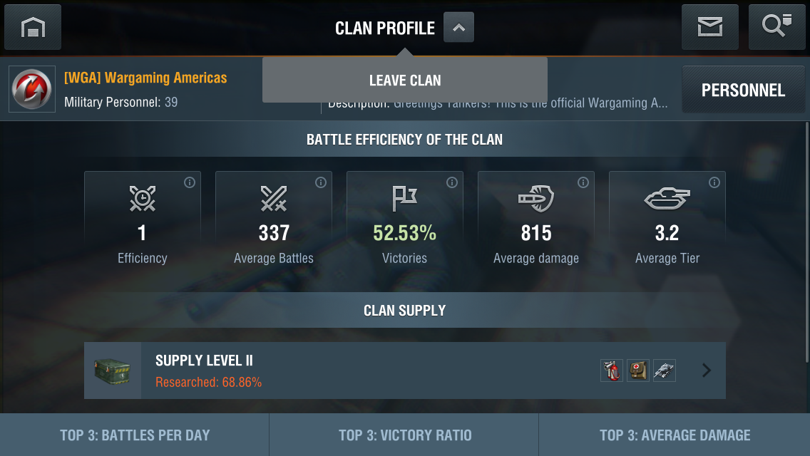 how to leave a clan in wot