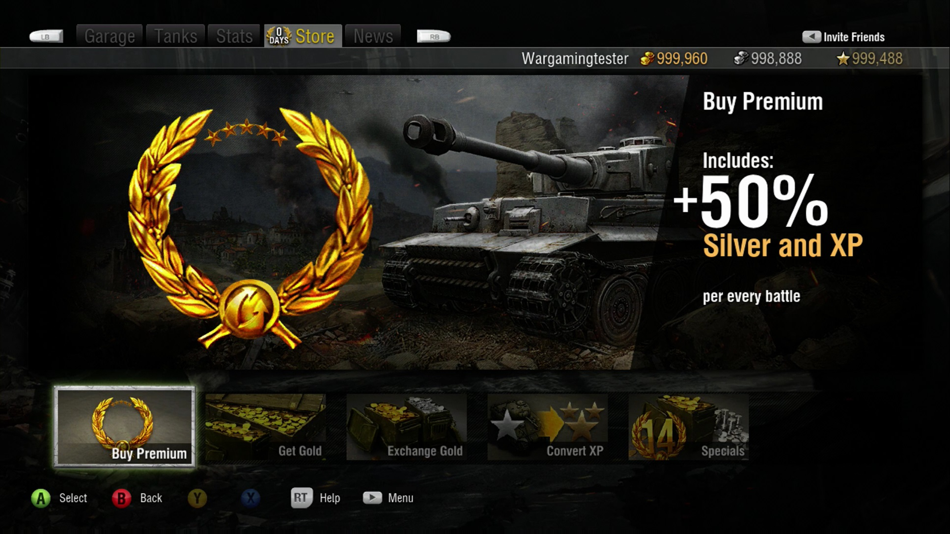 How Do I Buy A Premium Account? | World of Tanks