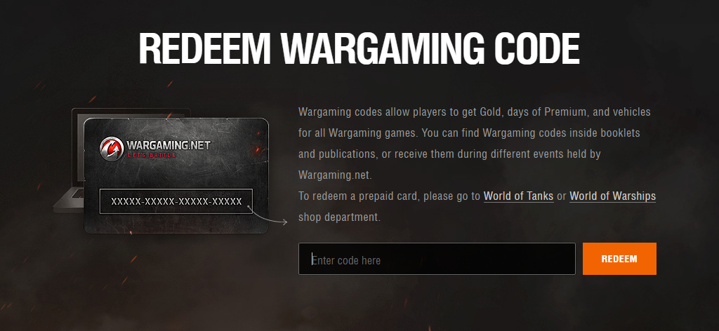 Bonus Code - how to redeem | World of Warships